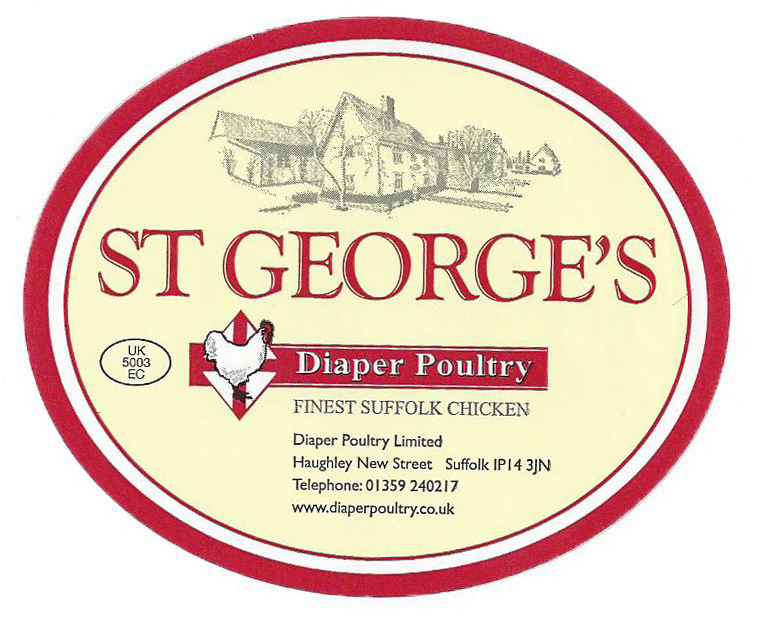 St george Label straight